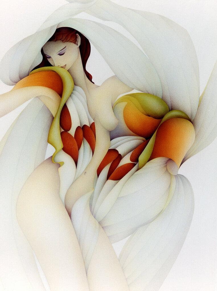 Художник Marci McDonald (USA)/ Букет из нежных лепестков любви