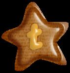 звезда t
