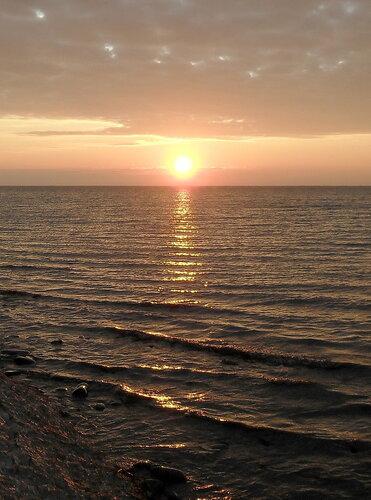 Декабрь 2011, побережье Азовского моря, Ахтарские закаты