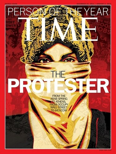 The Protester - Person of the Year by Time