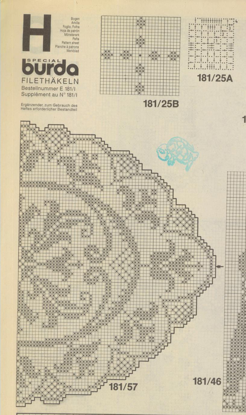 Стильное вязание крючком. Японский журнал со схемами 76