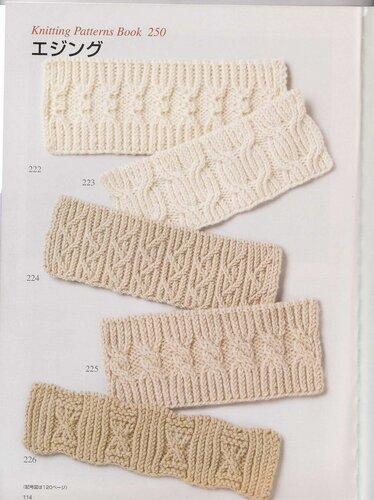 Вязаная шапка спицами от Daliya: Вязание на 8