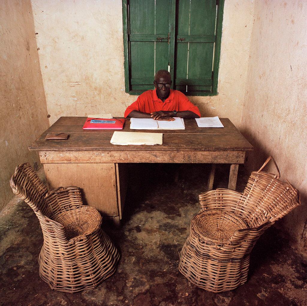 Liberia Bureau by Jan Banning.