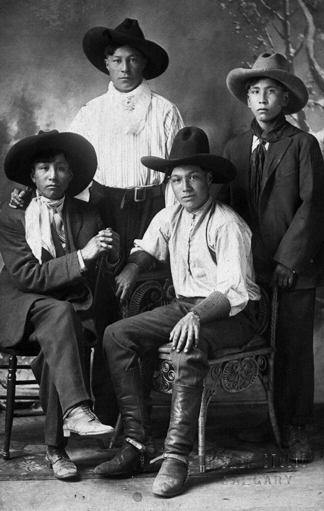 Boys in Hats 1912