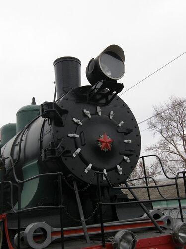Паровоз серии 9П. Музей железнодорожной техники на Рижской