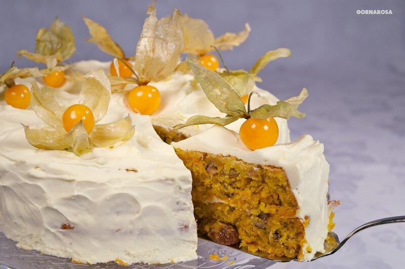 морковно-ананасовый торт рецепт