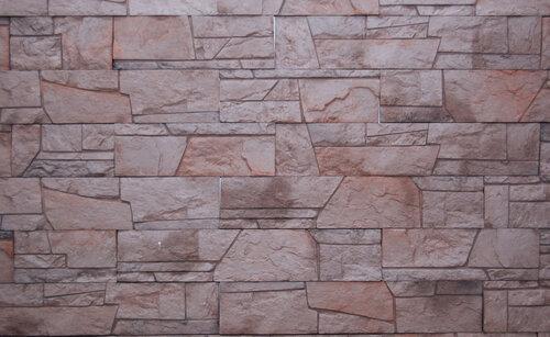 Облицовка стен плиткой ДОЛОМИТ, оформление наружной стены