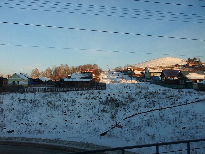 Южный Урал. Из окна поезда.