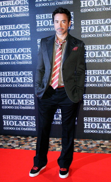 'Sherlock Holmes: Games Of Shadows' - Rome Premiere
