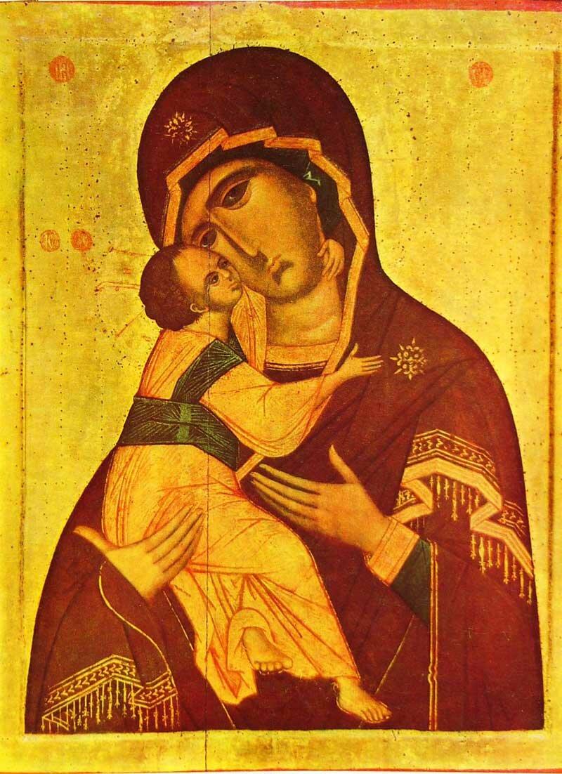 сретение владимирской иконы: