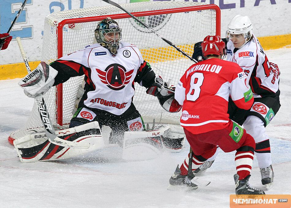 «Спартак» vs «Автомобилист» 5:2 чемпионат КХЛ 2011-2012 (Фото)