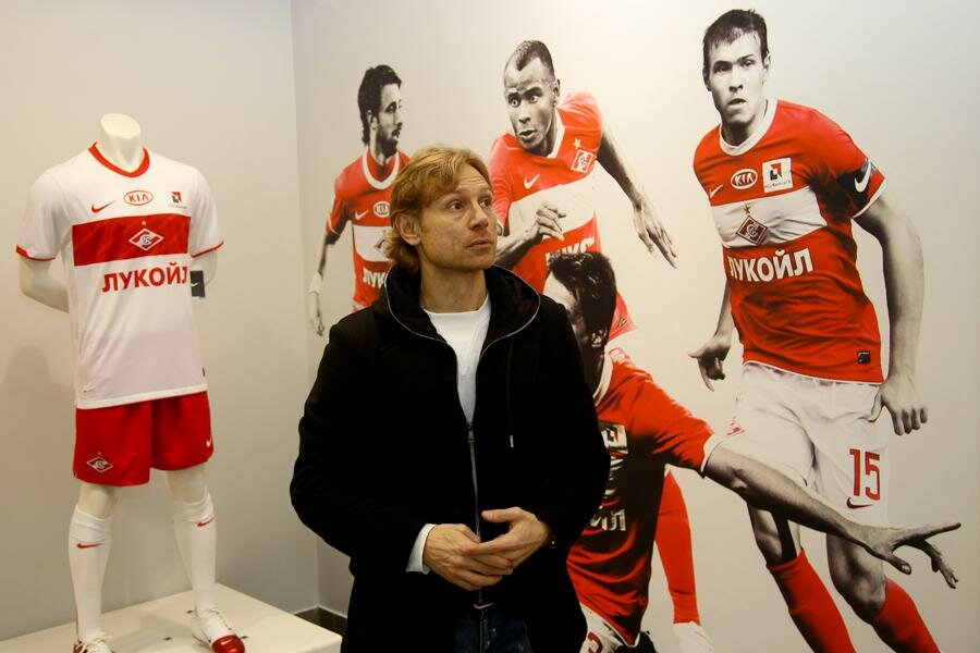 Валерий Карпин на Красной Пресне (Фото)