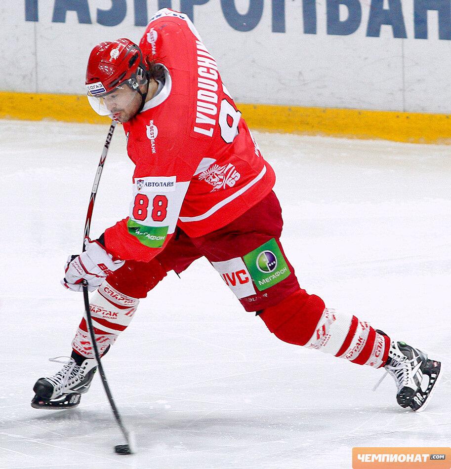 «Спартак» vs «Лев» 2:3 Б чемпионат КХЛ 2011-2012 (Фото)