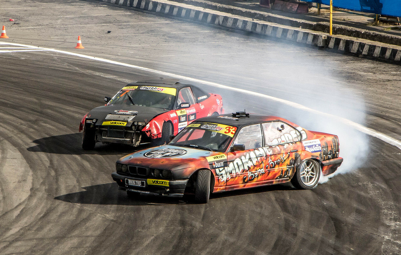 Руслан Курлович (BMW) vs Максим Краснопевцев (Nissan)
