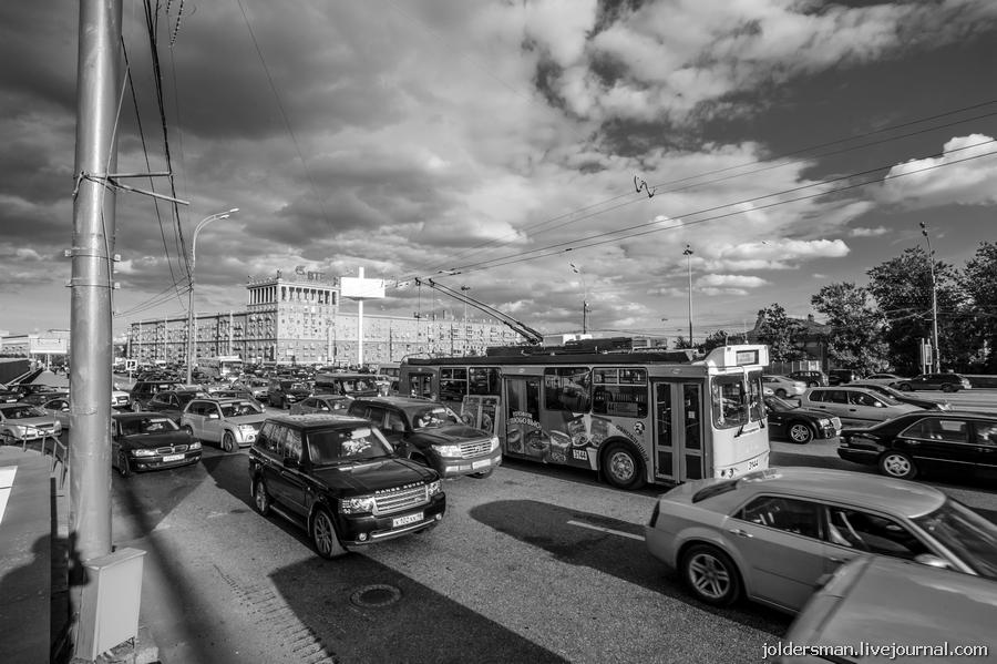 пробка на кутузовском проспекте