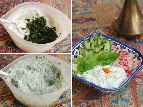 Салат с сузьмой - Сузмали салати