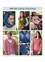 Журнал The Art of Cable Knitting: 7 Free Patterns jpg 50Мб