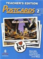 Книга Postcards - 2 - 2nd Edition (Students' Book, Audio, Teacher's Edition , Workbook, Student CD-ROM) pdf, мр3 / rar 530,32Мб