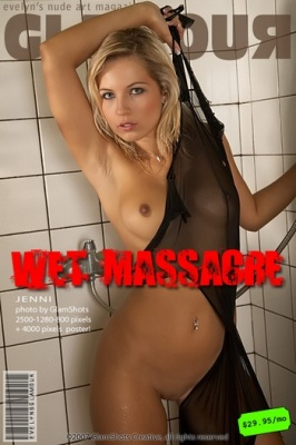 "Журнал Журнал Glamour. Jenni ""Wet massacre"""