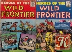 Heroes of the Wild Frontier (Comic Books) 1956-01, 02
