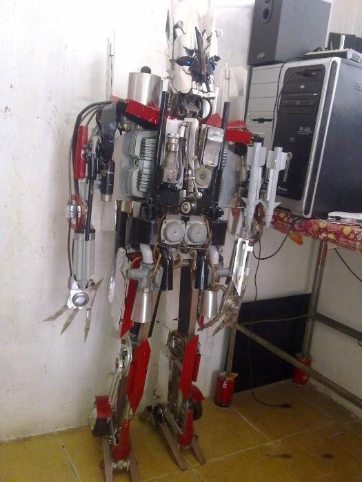 Сделай робота в домашних условиях