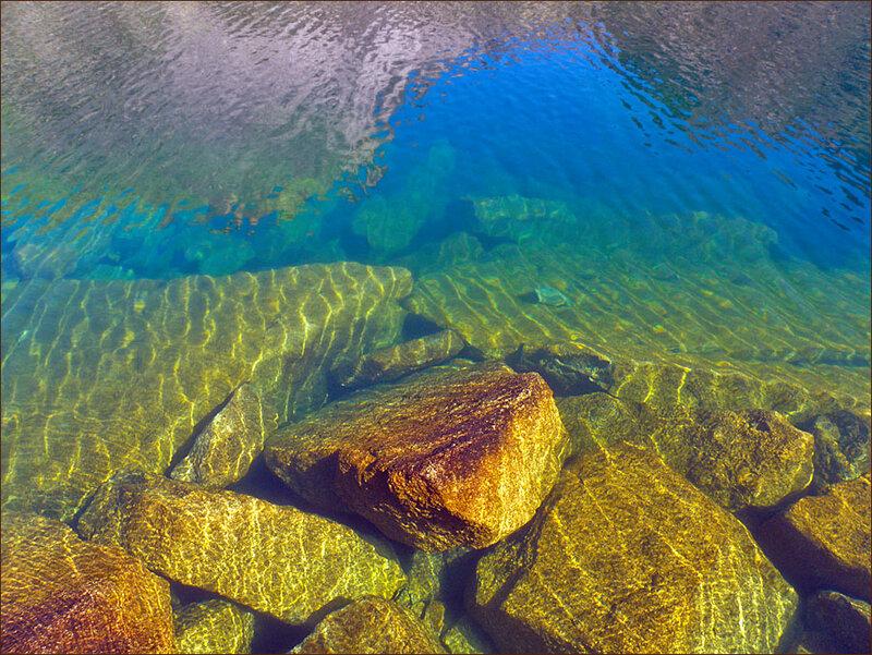 Дно и отражение