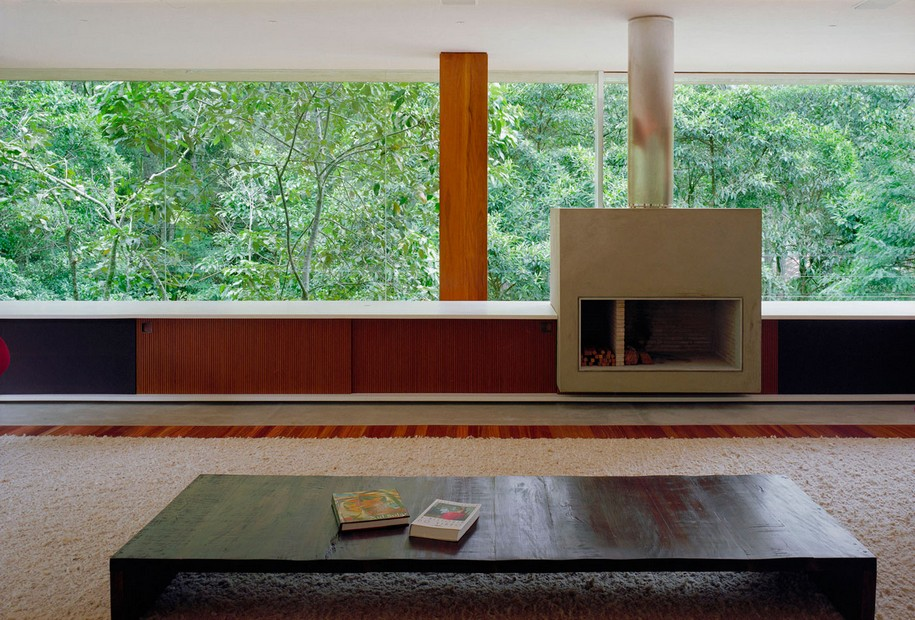 Современный BR House от Marcio Kogan в Рио