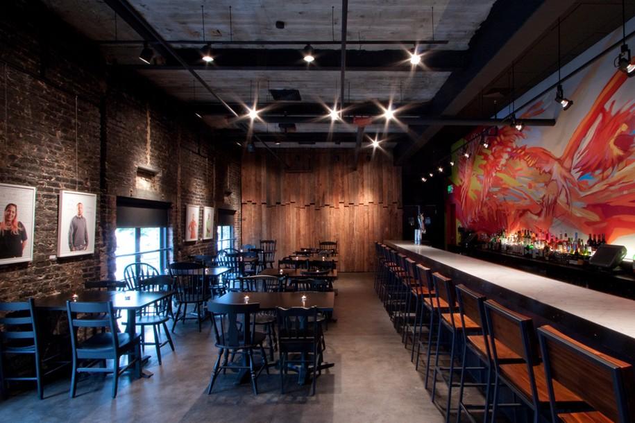 Концепт-кафе от PI.KL Studio в Балтиморе