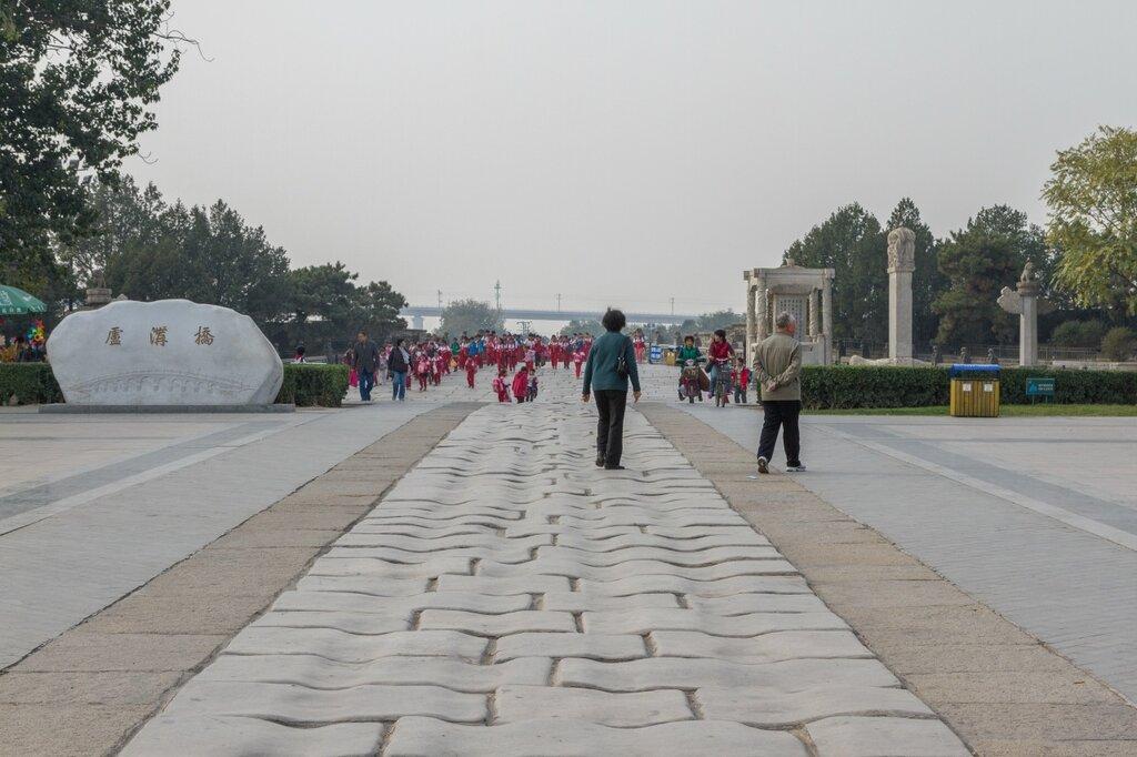 Площадь между мостом Лугоу и крепостью Ваньпин