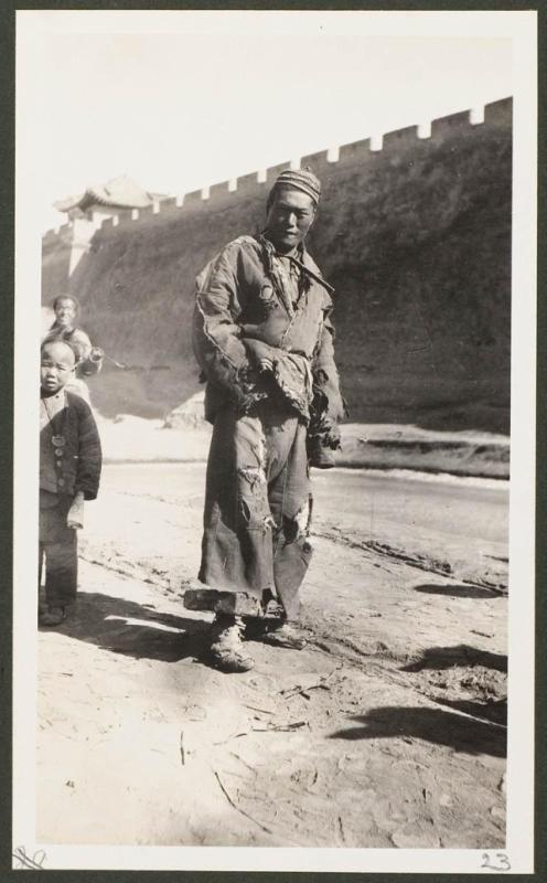 Преступник, порицаемый толпой на рынке в Чанъу