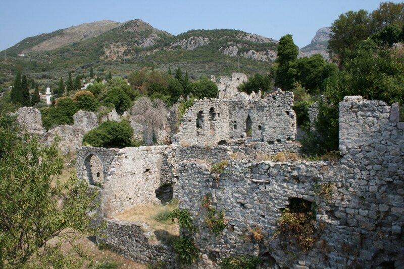Черногория, Старый город Бар