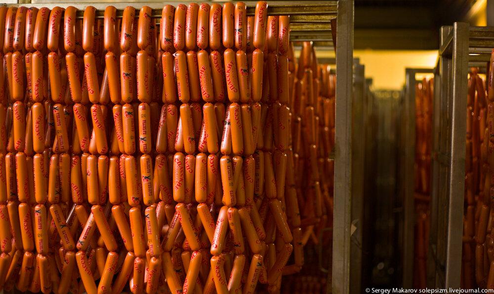 Как делают колбасу