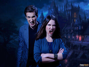 Пара вампиров (вампир, пара)