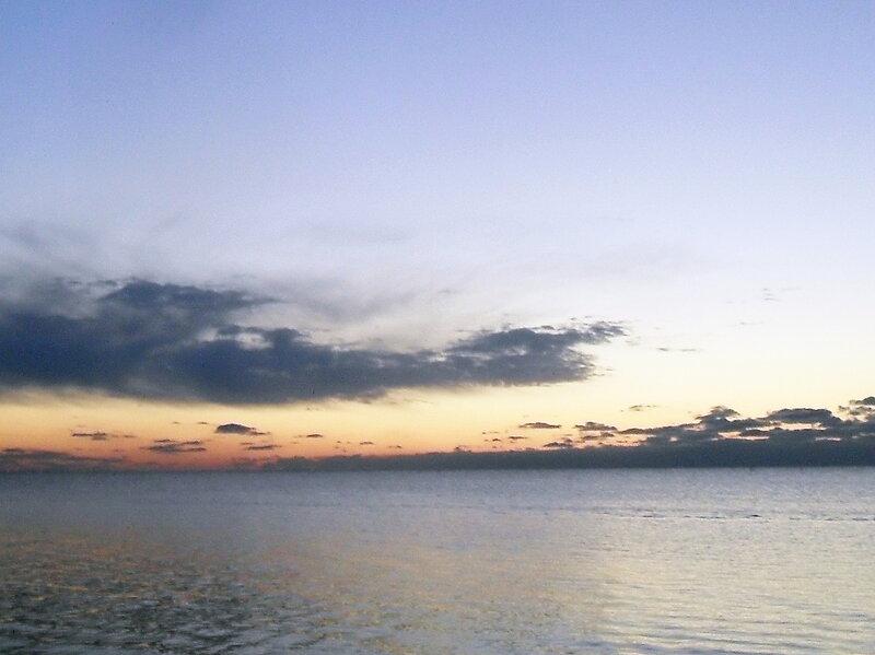 Вечер, октябрь 2011, Кубань, Азовское море