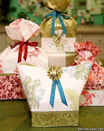 Oriflame Yspex - Красивая упаковка для новогодних подарков своими руками