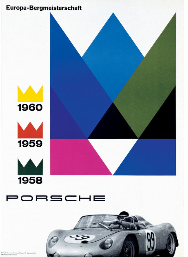 Vintage Auto Racing Posters