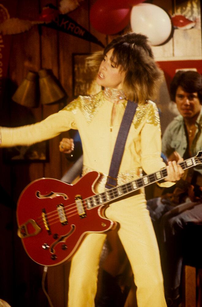 Suzi Qutro on Happy Days in 1978