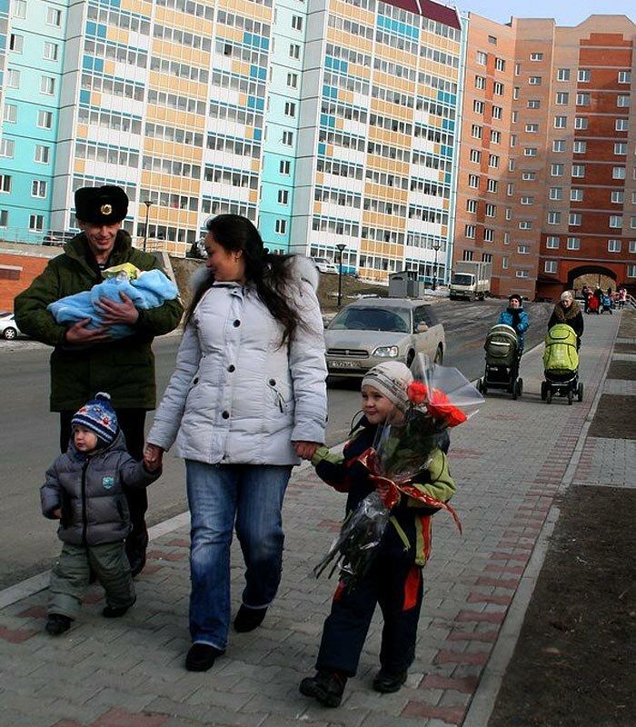 Снеговая падь - заселение нового микрорайона Владивостока