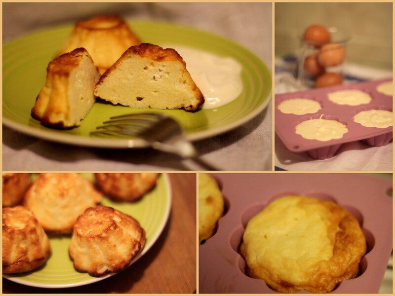 Сырники в форме для кексов