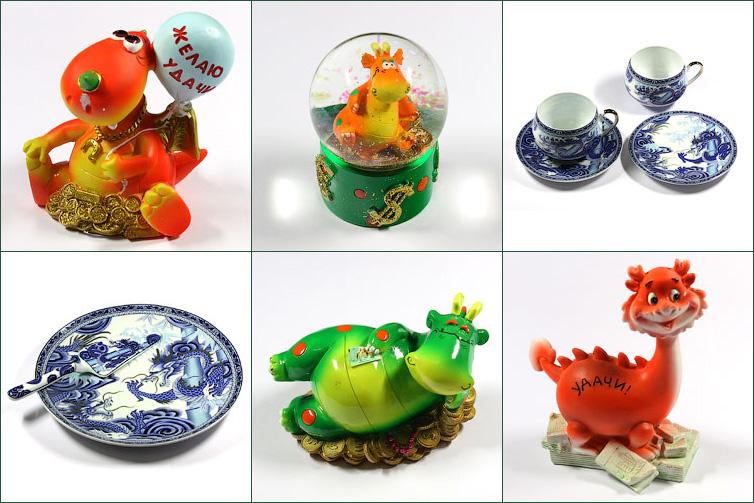 Сувениры и подарки «Символ 2012 года»