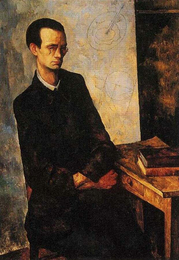 The Mathematician. 1918. Diego Rivera (1886-1957)