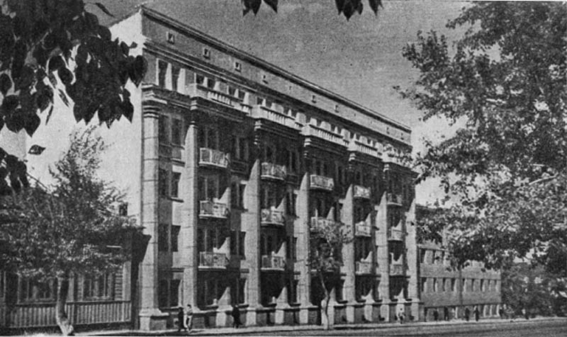 Жилой дом на улице Цвиллинга. 1936 г.