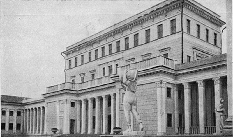 Дворец культуры в Ленинском районе. 1949 г.