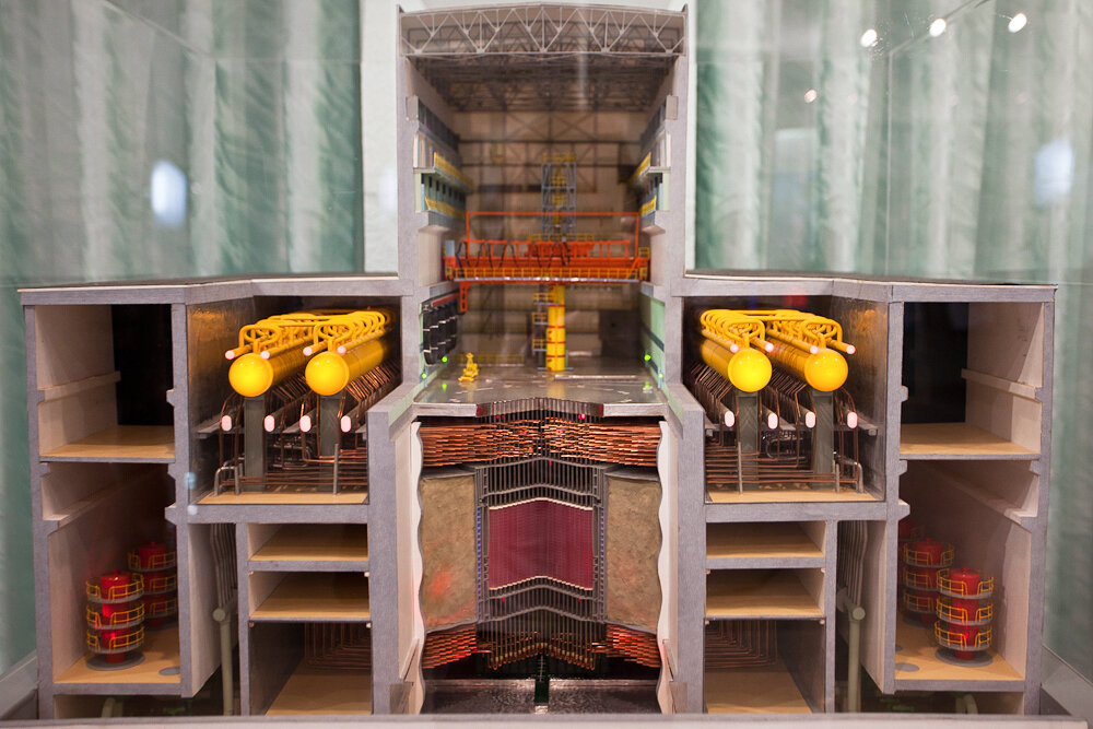 схема реактора в разрезе