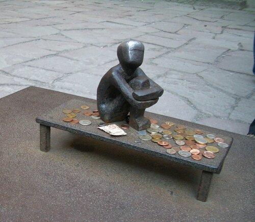 Железный мальчик в Стокгольме