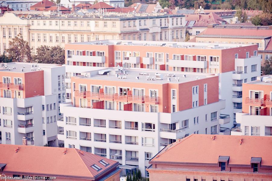 жизнь в Праге, новые дома