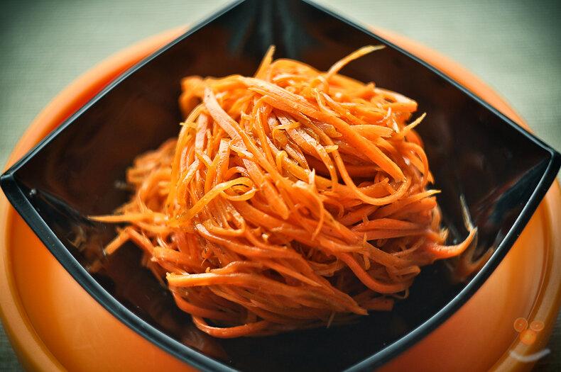 Как сделать морковь по карейски