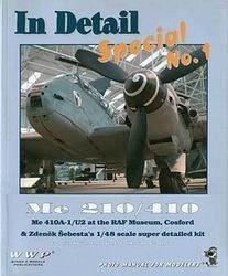Книга Me 210 / 410- Me 410A-1 / U2 [In Detail Special, No. 1]
