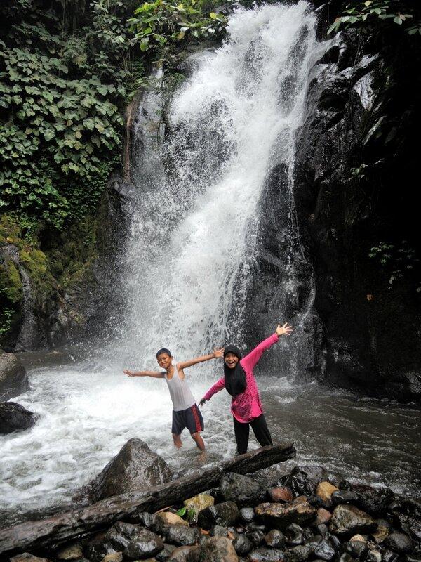 водопад в бенгкулу