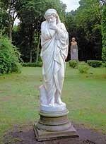 «Зима» – единственная уцелевшая парковая скульптура Качановки